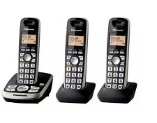 Panasonic KX-TG4223B DECT 6.0 Plus Cordless Phone System with Answering Machine