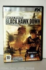 DELTA FORCE BLACK HAWK DOWN FX GIOCO USATO OTTIMO STATO PC ED ITALIANA 30523