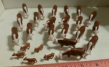 1/64 ERTL FARM TOY QTY OF 20 HEREFERD BEEF COWS CATTLE& 5 calves 4 YOUR DISPLAY