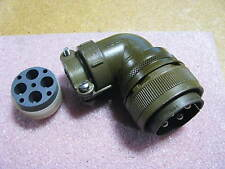 ITT CANNON CONNECTOR # CA3108E28-2009-16P NSN: 5935-00-838-9562 CLAMP & BACKSHEL