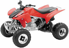 NEW FACTORY RED HONDA TRX450 TOY REPLICA QUAD ATV MOTORCYCLE TOYS BOYS KIDS 1:12
