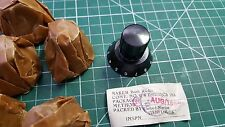 8 x Vintage Bush Radio Knobs , AUG 1956  , 10AK / 162 , 6mm shaft