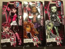 "Monster High Frightfully Tall Ghouls Frankie Clawdeen Draculaura 17"" NIB"