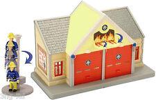 Jouet set Sam le pompier caserne pompier aventure avec figurine Elvis boite neuf
