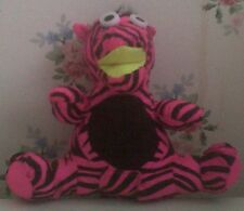 Zebra Soft Toy Which Reverses Into A Create