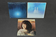 ANDREAS VOLLENWEIDER 3 LP LOT VINYL ALBUMS COLLECTION Behind The Gardens/Moon+
