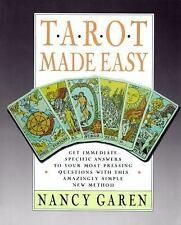 Tarot Made Easy, Nancy Garen, Good Condition, Book