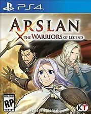 PLAYSTATION 4 PS4 GAME ARSLAN: THE WARRIORS OF LEGEND
