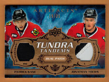 2008-09 ,UD ,ARTIFACTS , KANE-TOEWS , TUNDRA TANDEMS , DUAL PATCH , COPPER , /35