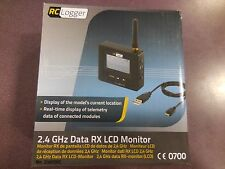 RC Logger 2.4GHz Data RX LCD Monitor 20005RC