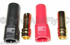 XT150 6mm Bullet Connector Adapter Plug Set Male Female 150 Amps BATTERY SIDE