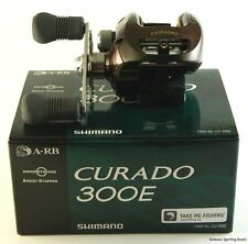 SHIMANO CURADO E CU-300E 6.2:1 GEAR RATIO RIGHT HAND BAITCAST REEL