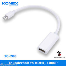 Thunderbolt Mini Display Port displayport DP MDP to HDMI Cable Adapter Converter