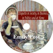 Etiquette in Society Business Politics Home Audiobook by Emily Post on 1MP3 CD
