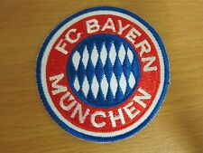 Bayern Munchen soccer team football badge iron-on embroidered patch