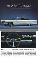 Cadillac 1966 - 1966 Cadillac - New Elegance... New Excellence... New Excitement
