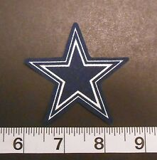 FREE SHIPPING NFL Dallas Cowboys Iron On Fabric Applique Patch Logo DIY Craft #1