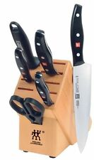 ZWILLING J.A. Henckels TWIN Signature 7-pc Knife Block Set 30707-000 NEW