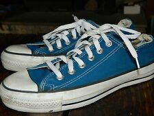 1990's Men's Converse Low Cut Blue Size 5 1/2 Made in the USA Used Good Cond.