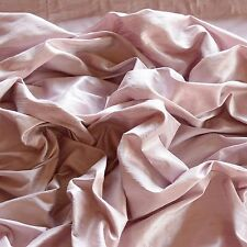 "Tea Rose Dupioni Silk, 100% Silk Fabric, 44"" Wide, By The Yard (S-208)"