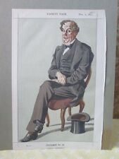 Vintage Print,STATESMEN OF THE DAY,#98,Alexander D.R.W.Baillie Cochran,MP,1870