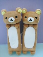San- X Rilakkuma Bear Car Seat Belt Cover One Pair ( Free Shipping )