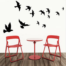 NEW DIY Flying Birds Wall Stickers Vinyl Removable Decals Mural Home Room Decor