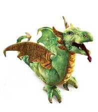 Wyvern Dragon Puppet w/ Moveable Mouth, Folkmanis MPN 2812, 3 & Up, Boys & Girls