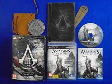 ps3 ASSASSINS CREED III 3 Join Or Die Collectors Edition Playstation PAL UK