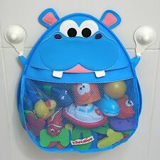 Hurley Hippo Bath Toy Organizer (Blue)    From USA      Buy from manufacturer