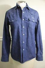 (Z) MAISON KITSUNE DENIM BLOUSE TOP  SIZE XS (BL100