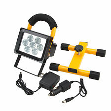Portable Rechargeable 50W 7 LED Flood Light Outdoor Camping Spot Work Lamp