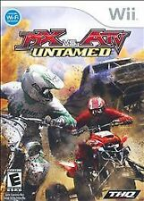 MX vs. versus ATV Untamed COMPLETE OKAY Nintendo Wii