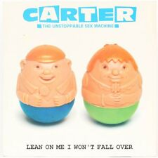 Lean On Me I Won't Fall Over  Carter The Unstoppable Sex Machine Vinyl Record