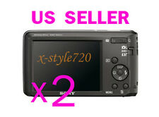 2x Sony CyberShot W520 Camera LCD Screen Protector Cover Guard Shield Film