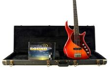 Pedulla Rapture RBJ2-4 String Electric Bass  Cherry  w/Case - Bartolini Pickups