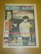 MELODY MAKER 1991 MARCH 9 CHARLATANS THUNDER THE FARM