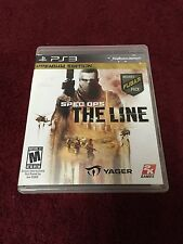 Spec Ops: The Line -- Premium Edition (Sony PlayStation 3, 2012)