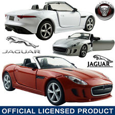 1:35 Jaguar F-Type DieCast Model Car Kid Children Pull Back Friction Powered Toy