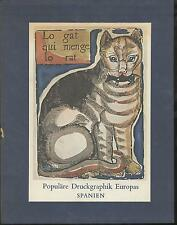 Populäre Druckgraphik Europas - Spanien - vom 15. bis zum 20. Jhd. Callwey