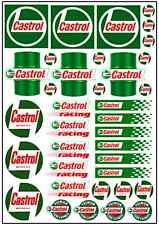 1/64, 1/87 - DECALS FOR HOT WHEELS, MATCHBOX, SLOT CAR: CAST... OIL RACE BRAND