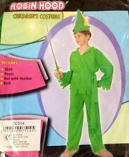 Robin Hood 4-6yrs small halloween book day party dress up costume peter pan