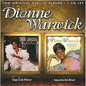 Dionne Warwick - Sings Cole Porter/Aquarela do Brasil (2011) 2CD NEW  SPEEDYPOST