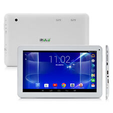 iRULU 10.1 inch Tablet Android 4.4 Quad Core 8GB Bluetooth HDMI GPS w/ Earphone