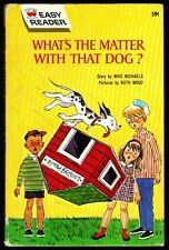 WHAT'S THE MATTER WITH THAT DOG? ~ Vintage Wonder Books Easy Reader Book 1969