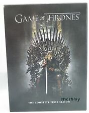 Game of Thrones: Season 1 (DVD, 2012, 5-Disc Set) HBO DVD Set