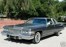1976 Cadillac Coupe Deville, PEWTER, Refrigerator Magnet, 40 Mil