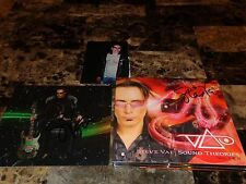 Steve Vai RARE Hand Signed 2 CD Sound Theories Vol 1 & 2 Limited Edition + Photo