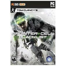 PC GAME TOM CLANCY'S SPLINTER CELL BLACKLIST