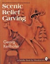 Scenic Relief Carving Schiffer Book for Woodcarvers